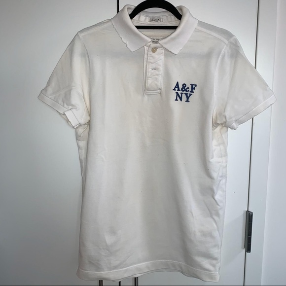 Abercrombie & Fitch Other - A&F White Polo
